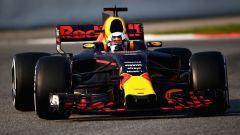 Daniel Ricciardo in azione sulla RB13
