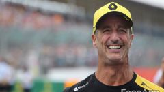 Daniel Ricciardo invecchiato con FaceApp