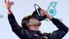 Daniel Ricciardo - l'ultima vittoria con la Red Bull RB12 in Malesia (2016)