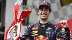 Daniel Ricciardo - prima vittoria di carriera con la Red Bull RB10 in Canada (2014)