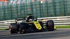 Daniel Ricciardo (Renault) in pista a Spa nel 2019