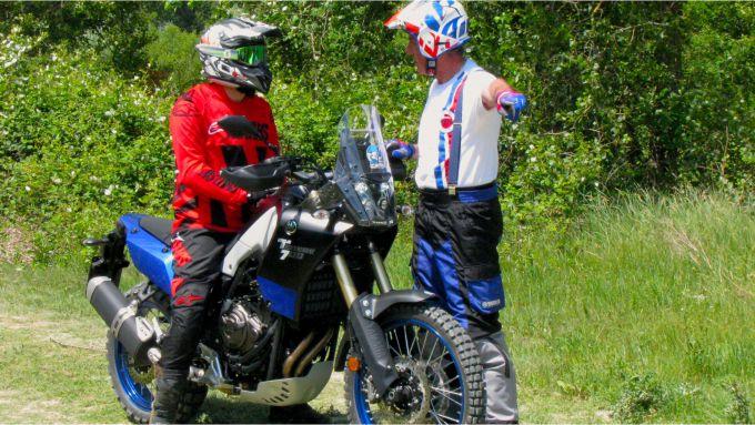 Daniele Madrigali ci da qualche ulteriore consiglio relativo alla posizione sulla moto