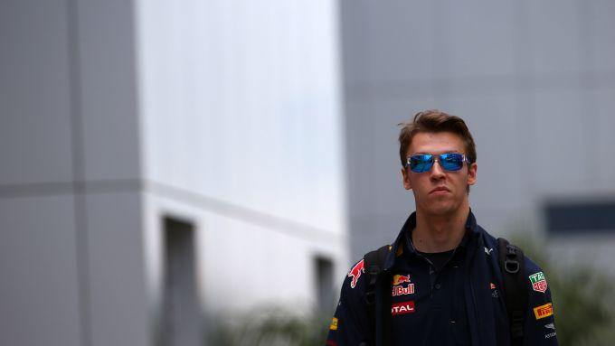 Daniil Kvyat nel Gp Russia F1 2016: ultima volta con la divisa Red Bull