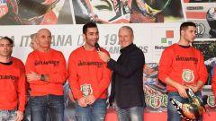 Danilo Petrucci con Vergani