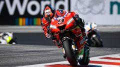 Danilo Petrucci (Ducati) in pista in Austria