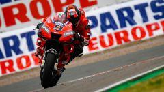 Danilo Petrucci (Ducati Team) in pista sulla pista del GP Germania
