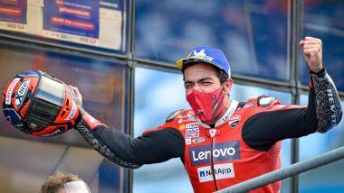 Danilo Petrucci (Ducati) vince a Le Mans nel 2020