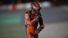 Danilo Petrucci (KTM) caduto nel GP Qatar 2021