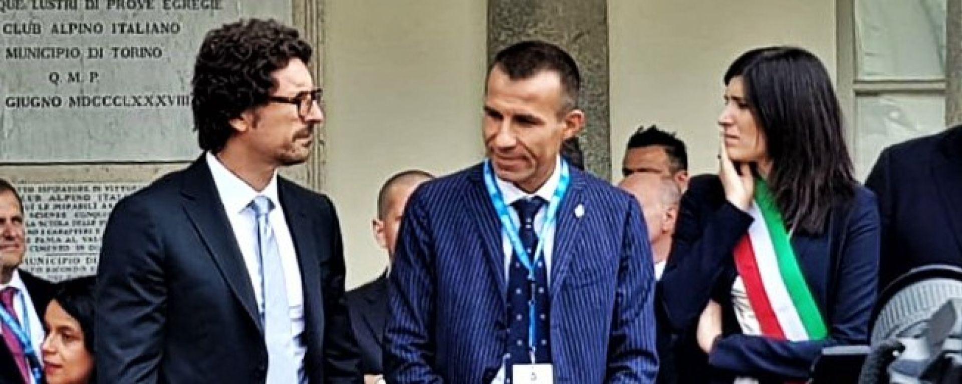 Il Ministro dei Trasporti Danilo Toninelli inaugura il Parco Valentino