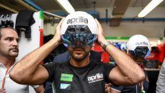 MotoGP Misano 2017: Aprilia Racing porta in pista il casco dalla Realtà Aumentata