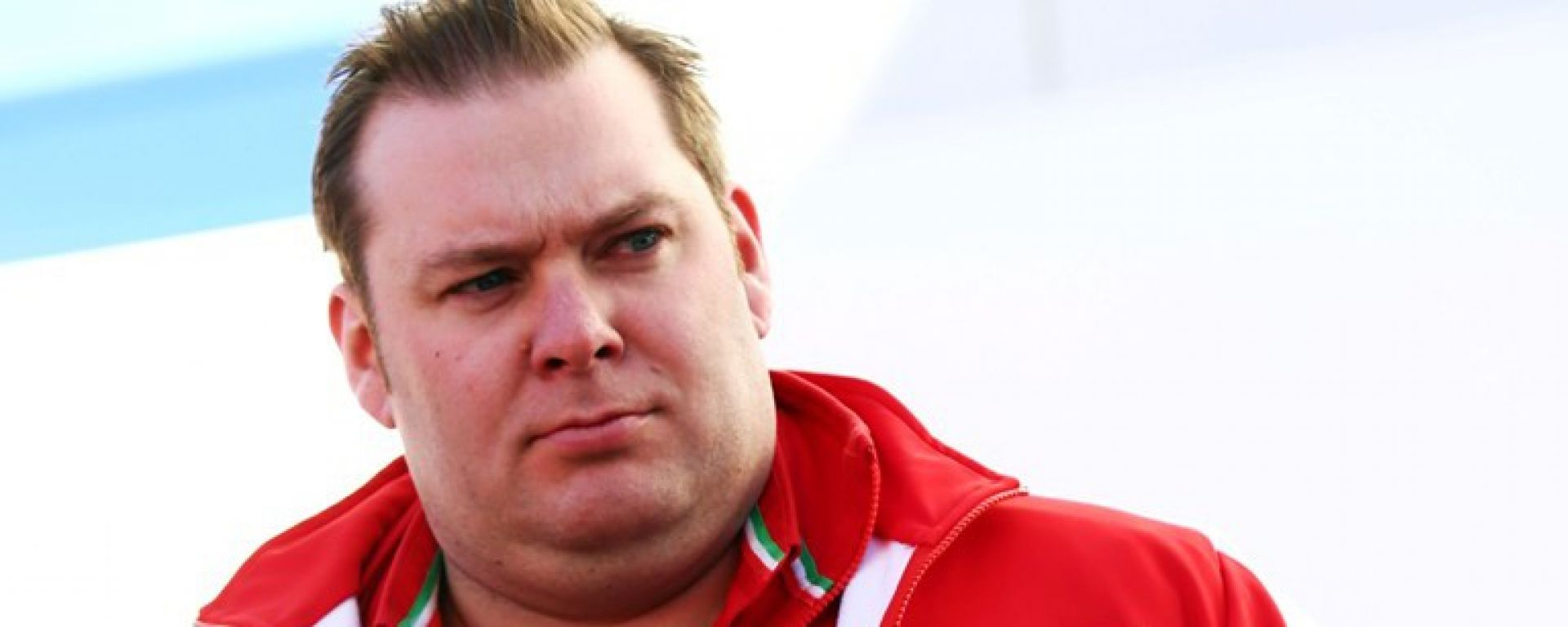 Dave Greenwood - Ingegnere di pista di Raikkonen in Ferrari