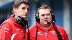 Dave Greenwood nella sua precedente esperienza in Marussia Racing F1