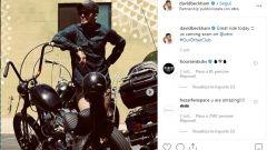 David Beckham: cellulare al volante e patente ritirata