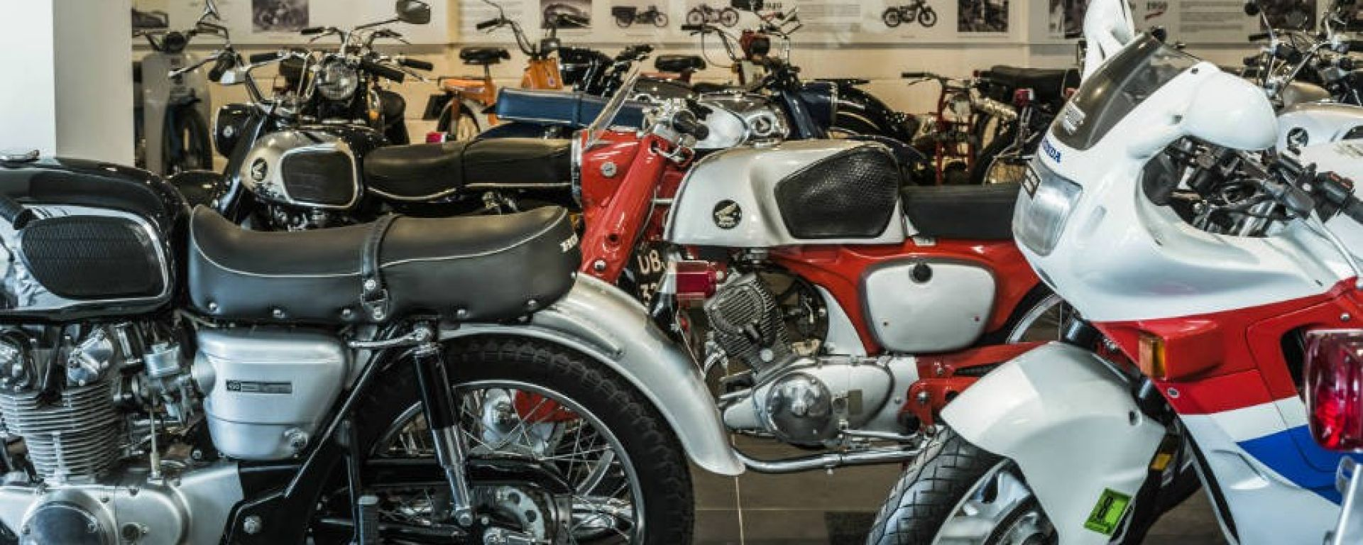 David Silver Collection: un museo con 150 moto Honda