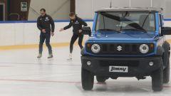 Davide Cassani e Carolina Kostner testimonial di Suzuki è Sport