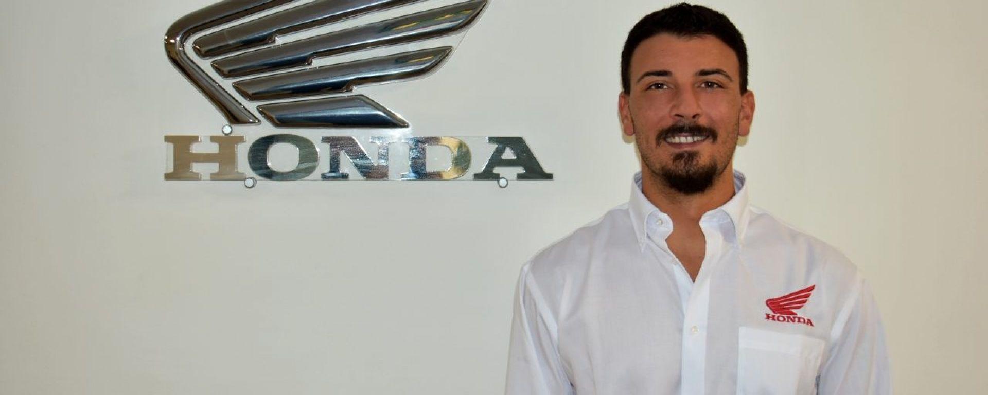 Davide Giugliano correrà con il team Honda ufficiale