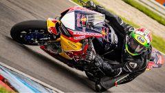 Davide Giugliano in pista al Lausitzring
