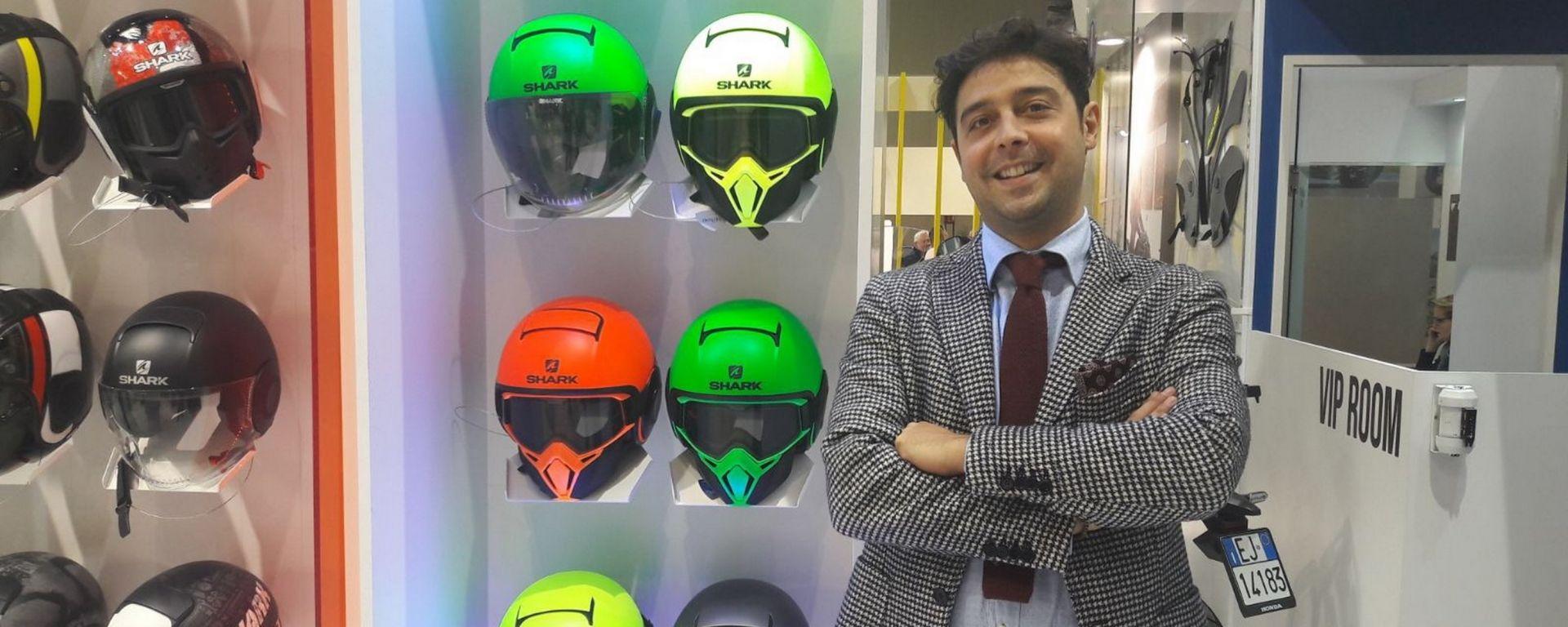 Davide Ioime, Sales Manager Italia di Shark Helmets