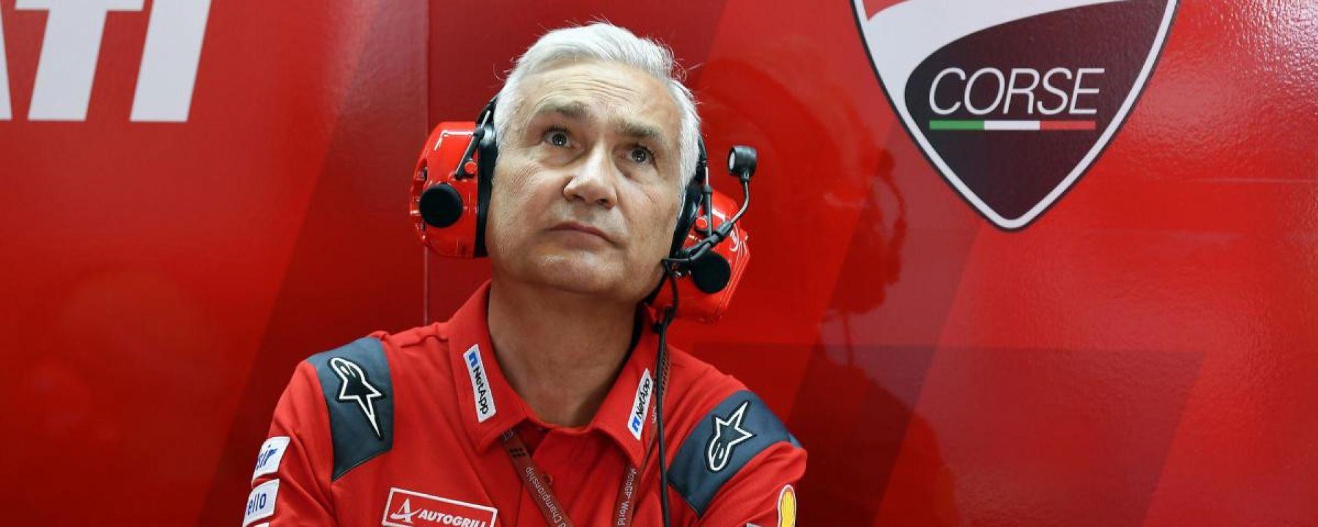 Davide Tardozzi (Ducati Corse)