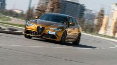 Alfa Romeo Giulia Quadrifoglio: prova della sportiva italiana