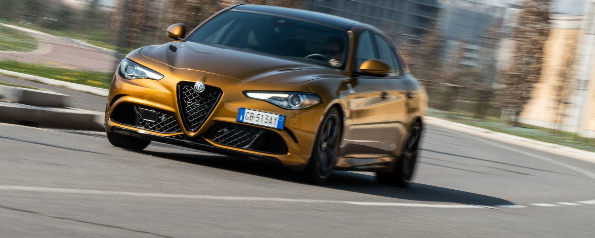 Day by Day Alfa Romeo Giulia Quadrifoglio: esperienza totale nel piacere di guida