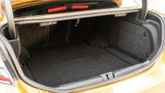 Day by Day Alfa Romeo Giulia Quadrifoglio: il bagagliaio da 480 litri di capacità