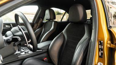 Day by Day Alfa Romeo Giulia Quadrifoglio: sedili sportivi di serie ma i ''gusci'' Sparco sono tutt'altro
