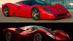 De Tomaso P72 e Ferrari P4/5, il confronto