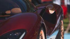 De Tomaso P72: lo specchietto laterale