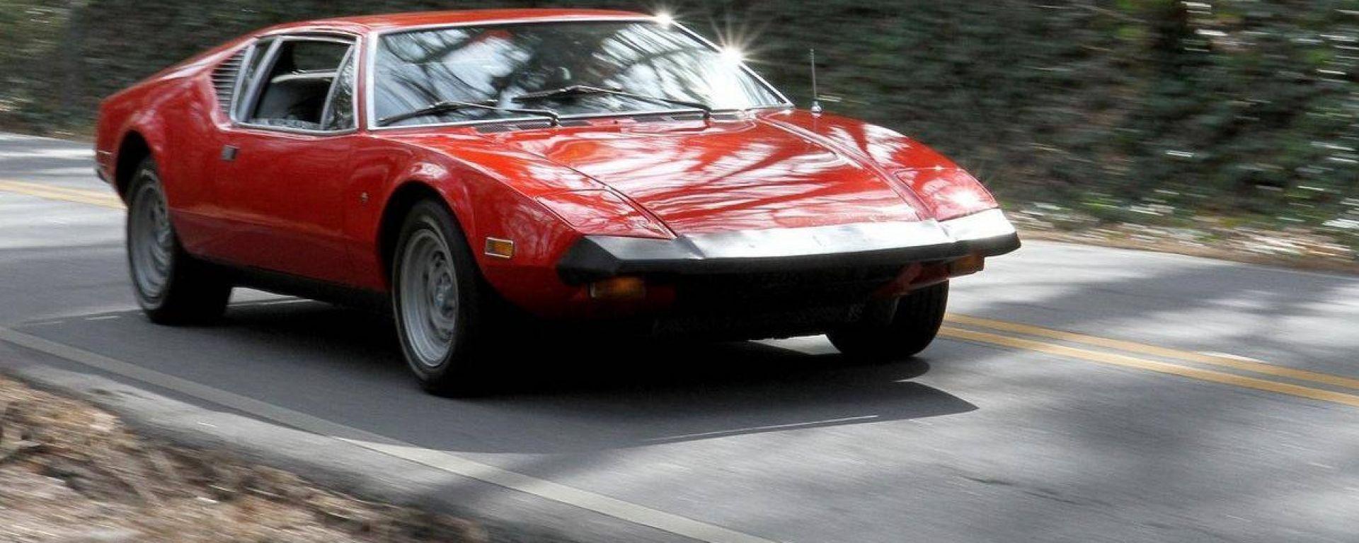De Tomaso Pantera: vista 3/4 anteriore
