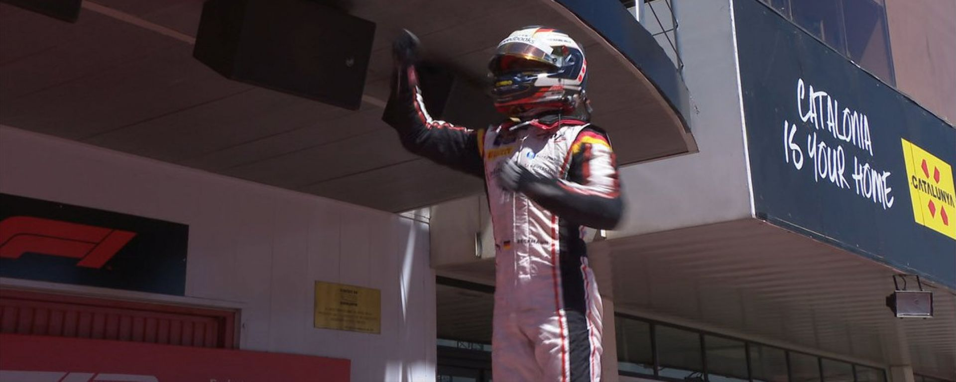 De Vries al termine di gara-2