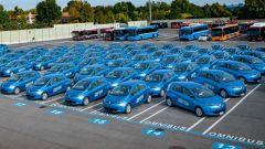 Debutta Corrente, primo car sharing elettrico a Bologna