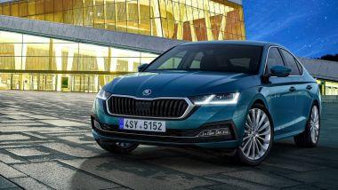 Debutto ibrido anche per la nuovissima Skoda Octavia 2020
