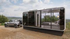 Defender Eco Home: villetta al traino del fuoristrada