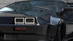 DeLorean attualizzata, un dettaglio