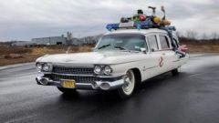 DeLorean, Batmobile e Ghostbuster: le auto all'asta