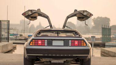 DeLorean posteriore