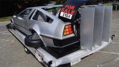 DeLorean volante : dettaglio posteriore