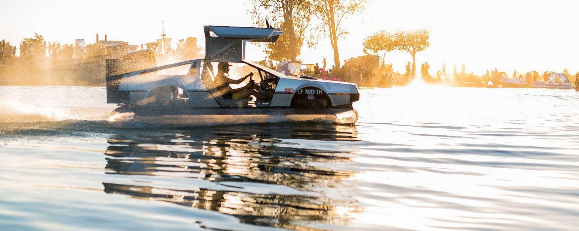DeLorean volante in vendita a 45.000 dollari