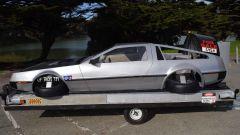 DeLorean volante: laterale