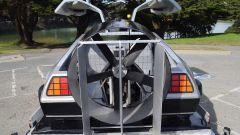 DeLorean volante: posteriore