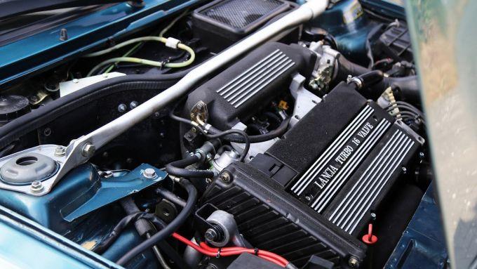 Delta Integrale Evo (1992), motore 2 litri turbo