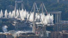 Demolizione Ponte Morandi: tratte chiuse e viabilità alternativa