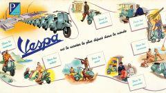 Depliant Vespa France 1949