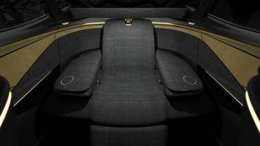 Nissan IMs concept, il sedile posteriore Premium