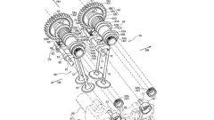 Dettaglio del nuovo sistema a fasatura variabile di Honda