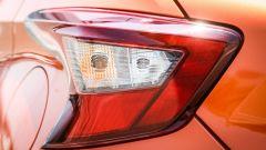 Dettaglio luci posteriori spigolose - Nissan Micra My 2017