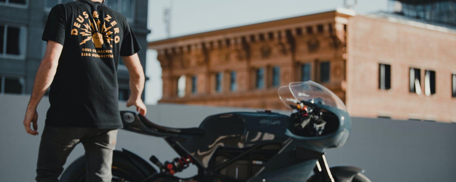 Deus Ex Machina svela la prima special elettrica su base Zero Motorycles SR/S