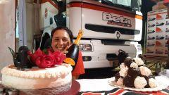 Diciotto anni festeggiati da endurista vera, sotto al tendone del team Dirt Racing