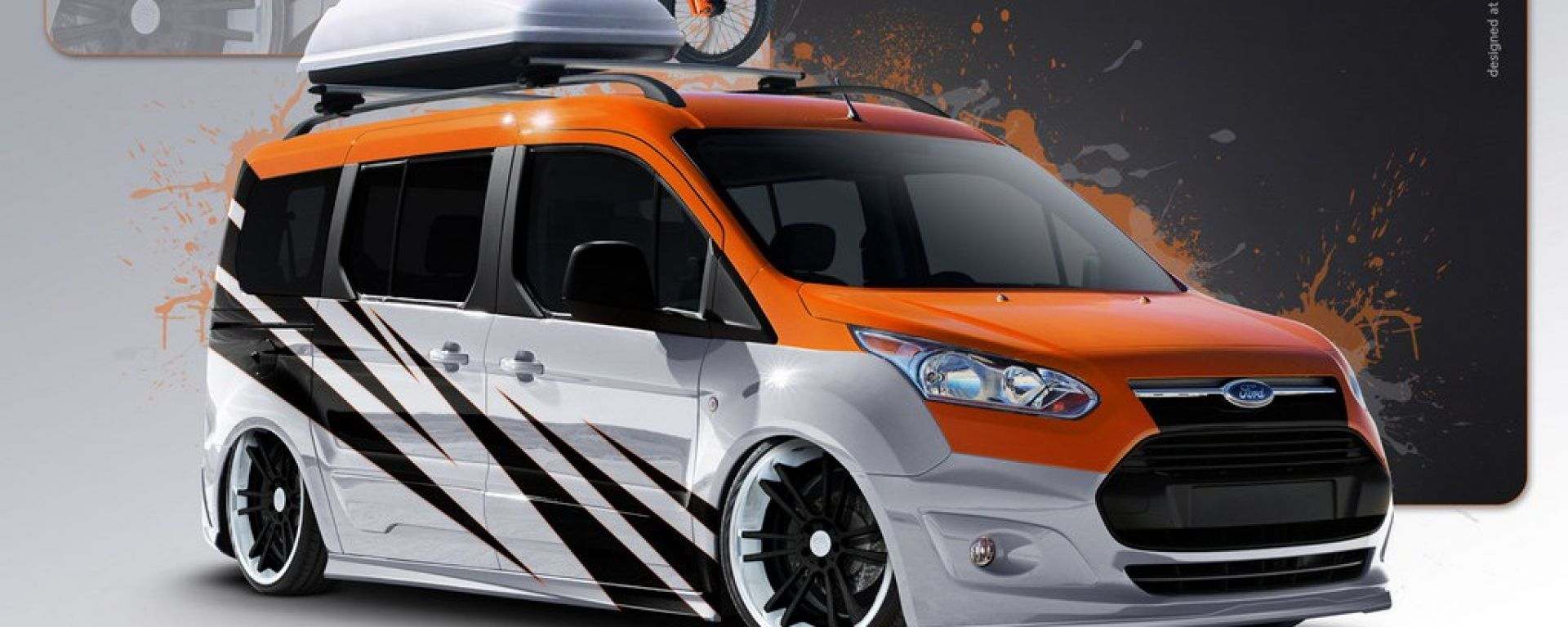 Dieci Ford Transit al SEMA Show